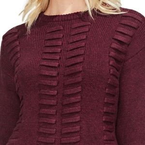 NWT Vince Camuto Lace Through Sweater